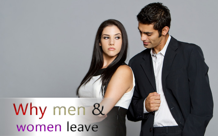 Why men and women leave
