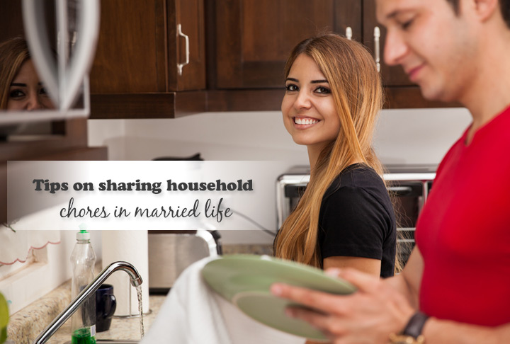household chores in married life