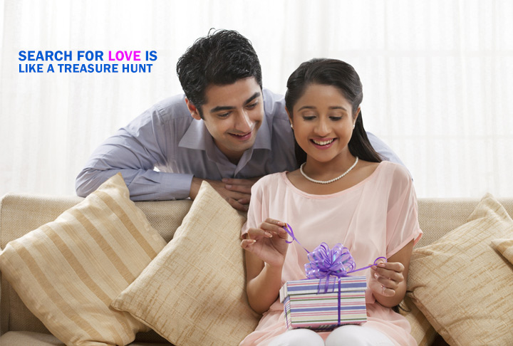 Search for Love Is Like a Treasure Hunt