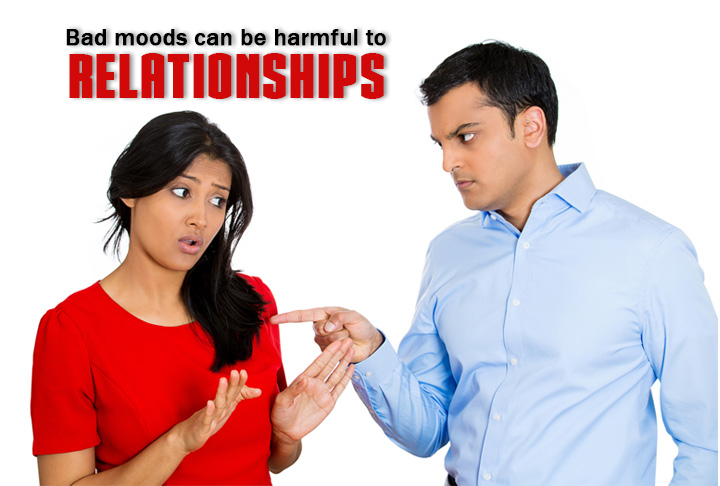 Bad Moods Can Be Harmful To Relationship