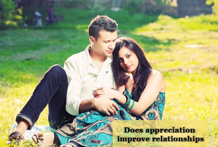 Does appreciation improve relationships