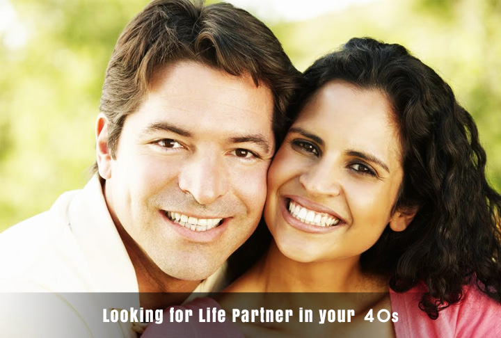 Looking for Life Partner in your 40s