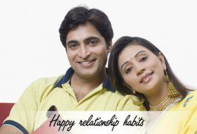 Happy relationship habits