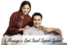 Is Marriage a Good Social Support System?