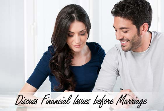 Discuss Financial Issues before Marriage